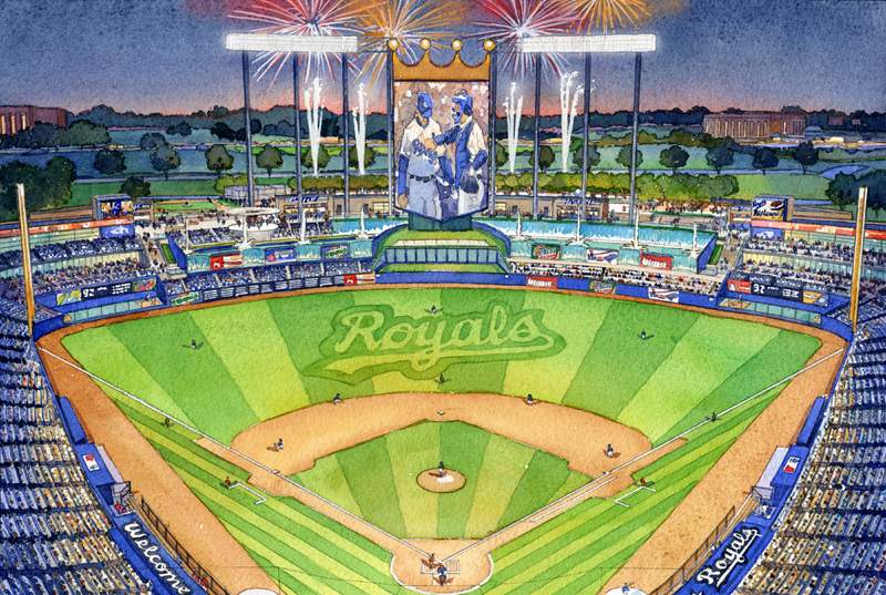 Ballpark renderings models archives ballparks of baseball kansas city royals malvernweather Gallery