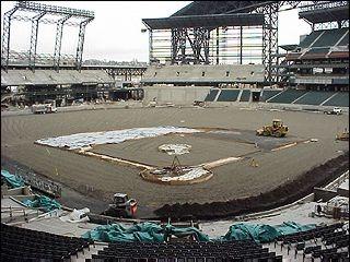 Ballpark Amp Stadium Construction Photos Ballparks Of Baseball
