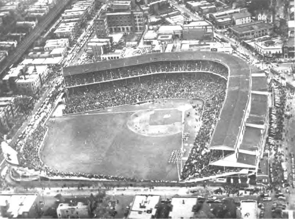 Wrigley Field in the 1940s