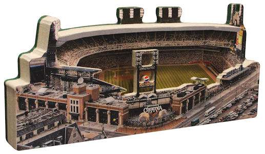 Comerica Park Detroit Tigers 3D Ballpark Replica