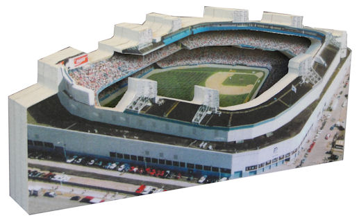 Tiger Stadium Detroit Tigers 3D Ballpark Replica