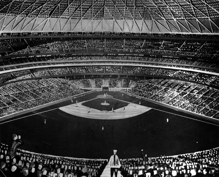 Ballpark renderings models archives ballparks of baseball your houston astros astrodome malvernweather Images