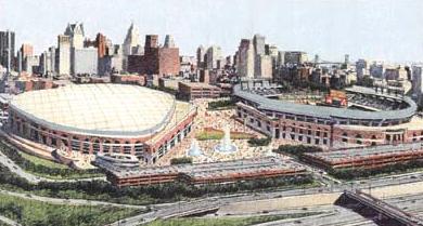 Detroit Tigers Ballpark Renerings