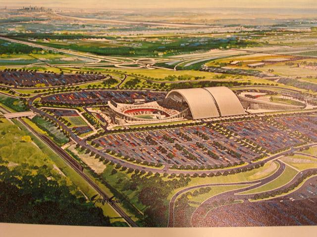 Kauffman Stadium Ballpark Renderings