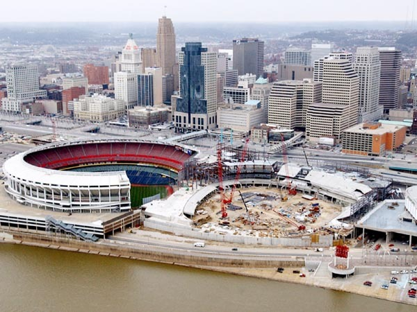 Ballpark Amp Stadium Construction Photos Ballparks Of Baseball