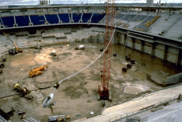 Minnesota Twins Ballpark Construction Pictures