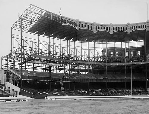 New York Yankees Ballpark Construction Pictures